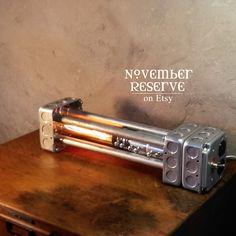 Industrial lighting, Handmade Lamp Steampunk Lantern