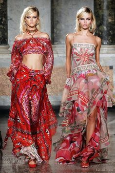 Pucci / High Fashion / Ethnic & Oriental / Carpet & Kilim & Tiles & Prints & Embroidery Inspiration /