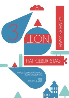 Postkarte LEON
