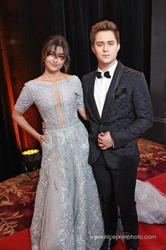 The newly wed, Best wishes! Ranz Kyle, My Ex And Whys, Star Magic Ball, Enrique Gil, Liza Soberano, Newlyweds, Gowns, Actors, Photo And Video