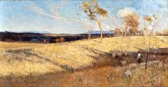 Arthur Streeton-Golden summer Eaglemont