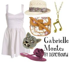 "Outfit based on Gabriella from ""High School Musical"""