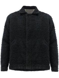 UMA WANG Furry Detail Jacket. #umawang #cloth #jacket