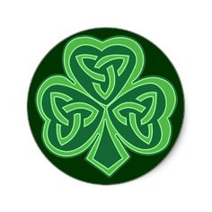 Celtic Knot #Shamrock #Stickers