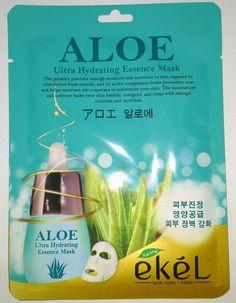 Ekel Aloe Ultra Hydrating Essence Mask K-Beauty 1pcs #EKEL