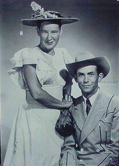 Minnie Pearl and Hank Williams