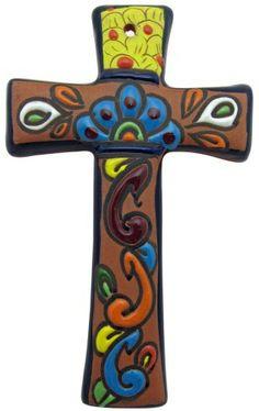 Raised Talavera Cross