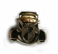 1934 Chevrolet Rod Pendant, Brooch or Keyring. Available in Sterling Silver, 9ct Gold, brass or bronze.