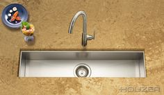 Houzer Zero Radius Undermount Trough Bar Prep Sink Living Pinterest Sinks And