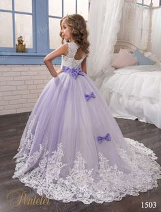 Original PENTELEI Flower Girl Dress style1503 at: myweddingown.com