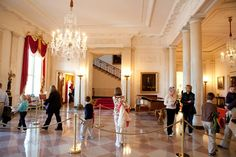 The Entrance Hall (also called the Grand Foyer) is the primary and formal entrance to the White House, the official residence of the President of the United States. Description from imgarcade.com. I searched for this on bing.com/images