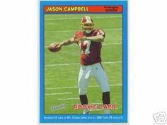2005 Bazooka Blue 171 Jason Campbell Redskins Rookie Parallel - Football Cards by Bazooka. $1.99. Quickly and securely shipped in a toploader, soft sleeve and bubble envelope.
