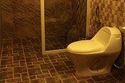 Washroom in the Resort