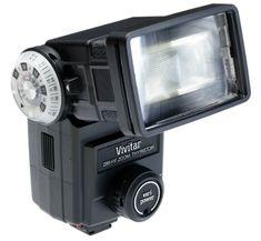 Vivitar 285HV Flash for SLR Cameras (Black) | My Canon Digital Camera
