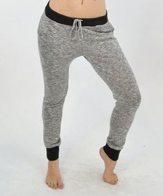 Look at this #zulilyfind! Heather Gray Lounge Pants #zulilyfinds