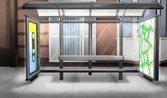 bus stop day Episode Interactive Backgrounds, Anime Backgrounds Wallpapers, Episode Backgrounds, Scenery Background, Living Room Background, Video Background, Casa Anime, Anime Places, Episode Choose Your Story