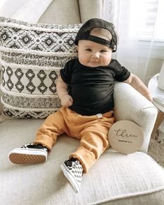 Baby boy clothes Baby boy vans and joggersYou can find Baby boy fashion and more on our website.Baby boy clothes Baby boy vans and joggers Baby Outfits For Boys, Newborn Outfits, Toddler Outfits, Cute Boy Outfits, Boys Fall Fashion, Baby Boy Fashion, Fashion Spring, Little Boys Fashion, Newborn Fashion