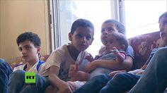 Syrien: Russische Armee beliefert Waisenhaus in Aleppo mit humanitärer H...