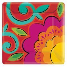 Love the idea of doing some fiesta plates in ceramics!