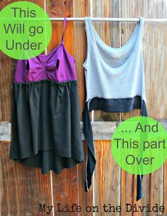 My Life on the Divide: DIY The Easy Bralette Nursing Top