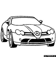 Mercedes Benz Car Coloring Pages For Boys mercedes-benz coloring pages Mercedes Benz Sls, Benz Car, Cars Coloring Pages, Coloring Pages For Boys, Coloring Books, Colouring, Lowrider Drawings, Car Drawings, Pokemon Rare