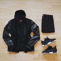"""M R.patrk on Instagram: """"sunday mood ⚫️⚫️⚫️... #outfitgrid Outfit Grids #WDYWTgrid WDYWT NRLLPRPRX #SuitGrid SuitGrid #SharpGrids @sharpgrids #menswear #outfit #ootd Jacket ➾…"""""""
