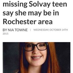 Please pray for my daughters friend.  If your not a praying type person give it a try....this little girl needs some Divine intervention in her life right now. Please pray for her safe return.