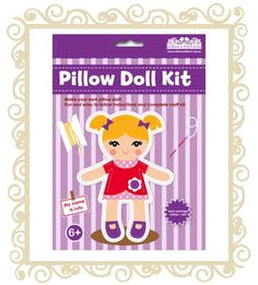 Make Your Own Pillow, Craft Kits, Dolls, Pillows, How To Make, Crafts, Baby Dolls, Manualidades, Puppet