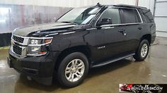 2015 Chevrolet Tahoe LS Sport Utility 4-Door - item condition used this listing is for a 2016 chevrolet tahoe ls used 9996 miles salvage title right side damage rear damage runs and drives al