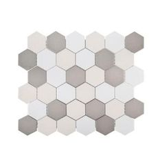 Jeffrey Court Rock Out White/Black Pebble 11 in. x 11 in. x 6 mm Honed Marble Mosaic Wall/Floor Tile-97795 - The Home Depot