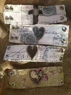 Bobby Boyd cuffs--these are awesome! I want some!