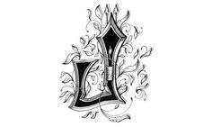 "Hand Drawn Alphabets J -  ""Love Letters – Hand Drawn Alphabet"": A Typography Treat!"
