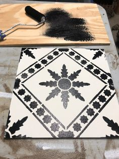 How To Update An Old Outdoor Tile Table * Hip & Humble Style Tile Patio Table, Tile Tables, Patio Tiles, Outdoor Tiles, Diy Outdoor Table, Diy Patio, Backyard Patio, Outdoor Furniture, Painted Trays