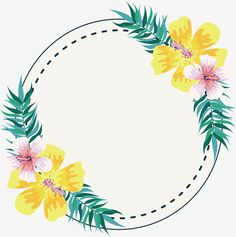 Título moldura Flores Brancas, Vector Png, O Estilo Simples, Plantas Tropicais PNG e Vector Cute Wallpapers, Wallpaper Backgrounds, Watercolor Flowers, Watercolor Art, Story Instagram, Flamingo Party, Flower Frame, Diy And Crafts, Projects To Try