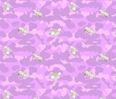 Erna Camouflage pink fabric by xantha on Spoonflower - custom fabric Pink Camouflage, Pink Fabric, Fabric Patterns, Custom Fabric, Spoonflower, Decorative Pillows, Craft Projects, How To Draw Hands, Fabrics
