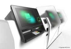 NCR 91 Head-on Interactive Teller – the first global product in a unique new banking technology category – Assisted Service. Kiosk Design, Retail Design, App Design, Digital Kiosk, Digital Signage, Future Of Banking, Sofa Table Design, Cnc Controller, Bank Branch