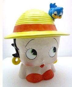 Betty Boop Cookie Jar -- Made by Enesco