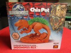 Chia Pet Jurassic World Indominus Rex Jurassic Park Dinosaur T Rex Jurassic World Indominus Rex, Jurassic Park, Planters For Sale, Chia Pet, Decorative Planters, Handmade Decorations, T Rex, Worm Bait, Ebay