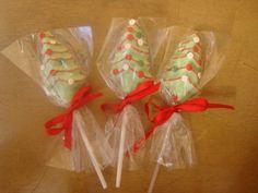 Arboles de Navidad en Chocolate!!!