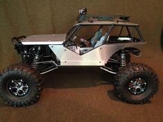 Axial Wraith w/many Vanquish Products Aluminum Upgrades, near Shelf Queen!