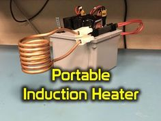 Hey guys, this is my portable induction heater that can be powered either with batteries or connected to a power supply. You can use this to heat metals well above...