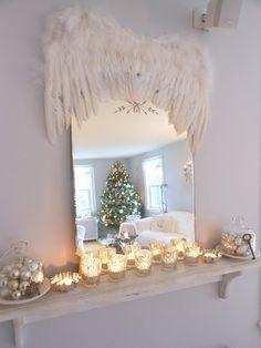 blog Vera Moraes - Decoração - Adesivos Azulejos - Papelaria Personalizada - Templates para Blogs: Decoração de Natal e Ano Novo Shabby Chic