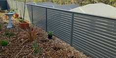aluminum slats for a front fence - Google Search