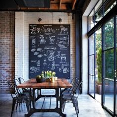 Contemporary Dining Room | HomeDesignBoard