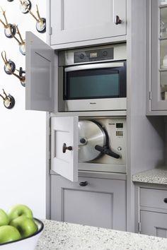 Rustic Kitchen Design, Country Kitchen, Electric Aga, Dual Fuel Cooker, Cream Aga, Aga Stove, Kitchen Icon, Aga Cooker, Color Unit