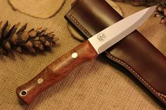 Custom Bushcraft Knife - Mountaineer model - Briar - Customize your own knife #custom #knife #survival #camping #hiking #bushcraft #backpacking #hunting #outdoors #fishing
