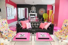 Barbie suite at the Palms.  $3000/night :(