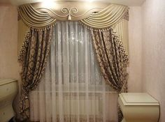 Гаяне Товмасян Window Coverings, Window Treatments, Cornice Design, Classic Curtains, Pelmets, Blinds For Windows, Drapes Curtains, Drapery, Interior Design Living Room