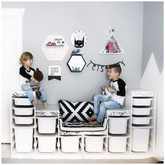 Stylish children's wardrobes and child's closet ideas for the perfect kid's bedroom storage inspiration. Not just for dress up! Stylish children's wardrobes and child's closet ideas for the perfect kid's bedroom storage inspiration. Not just for dress up! Bedroom Storage Inspiration, Bedroom Storage Ideas For Clothes, Bedroom Storage For Small Rooms, Closet Ideas, Small Bedrooms, Ikea Toy Storage, Storage Hacks, Closet Storage, Diy Storage