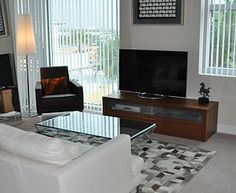 BoConcept furniture in condo at Grand Central at Kennedy in Tampa